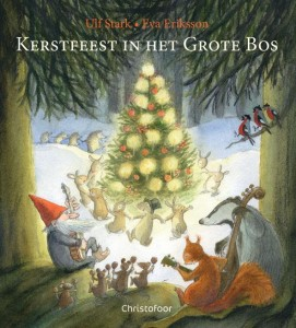 Kerstfeest in het bos